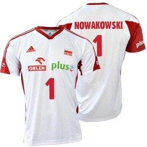 Koszulka Adidas MT VB FO MO JR S Nowakowski O04644NO-BIALA