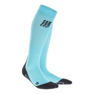 Skarpety Cep Compression Socks 2.0 W Czarno-Błękitne WP40YK